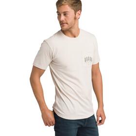 Prana Hollis Pocket Shortsleeve T-Shirt Herre weathered beige heather